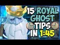 15 QUICK Tips About: Royal Ghost👻