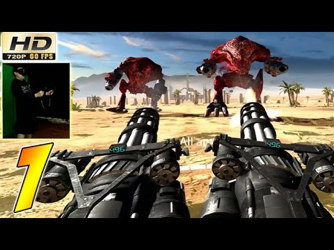 Serious Sam VR: The Last Hope Walkthrough: Part 1 - Earth - (Gameplay HTC Vive 60fps)