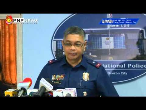 Maritime Group & Rizal PPO Briefing on Unit Accomplishment (Oct. 8, 2015)