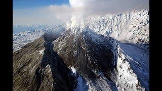 видео Вулкан Безымянный
