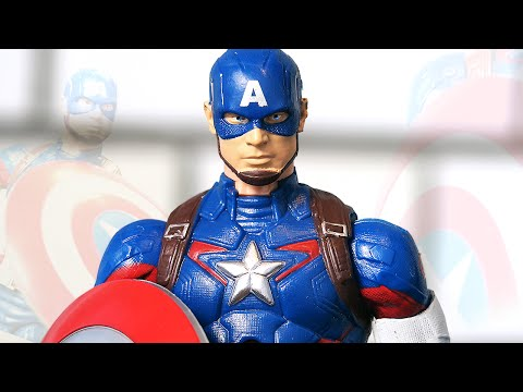 Фигурка КАПИТАНА АМЕРИКИ от Marvel Legends!