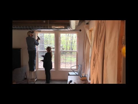 DIY Easy and Cheap Curtain Rods