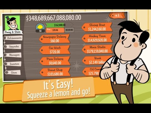 Lets Play AdVenture Capitalist 2 - Upgrades Equal Massive Profits