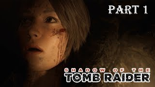 Shadow of the Tomb Raider Walkthrough Part 1 PC 4K German