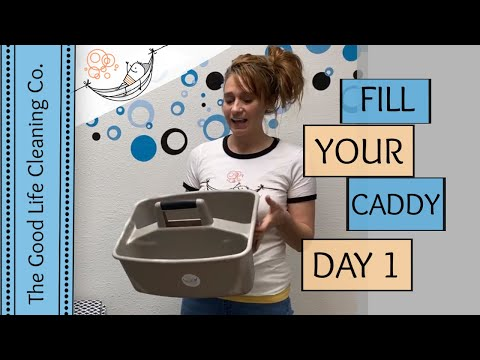 DAY 1 - 12 Amazing Ingredients for YOUR Cleaning Caddy