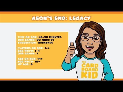 The Cardboard Kid - 107: Aeon's End: Legacy |