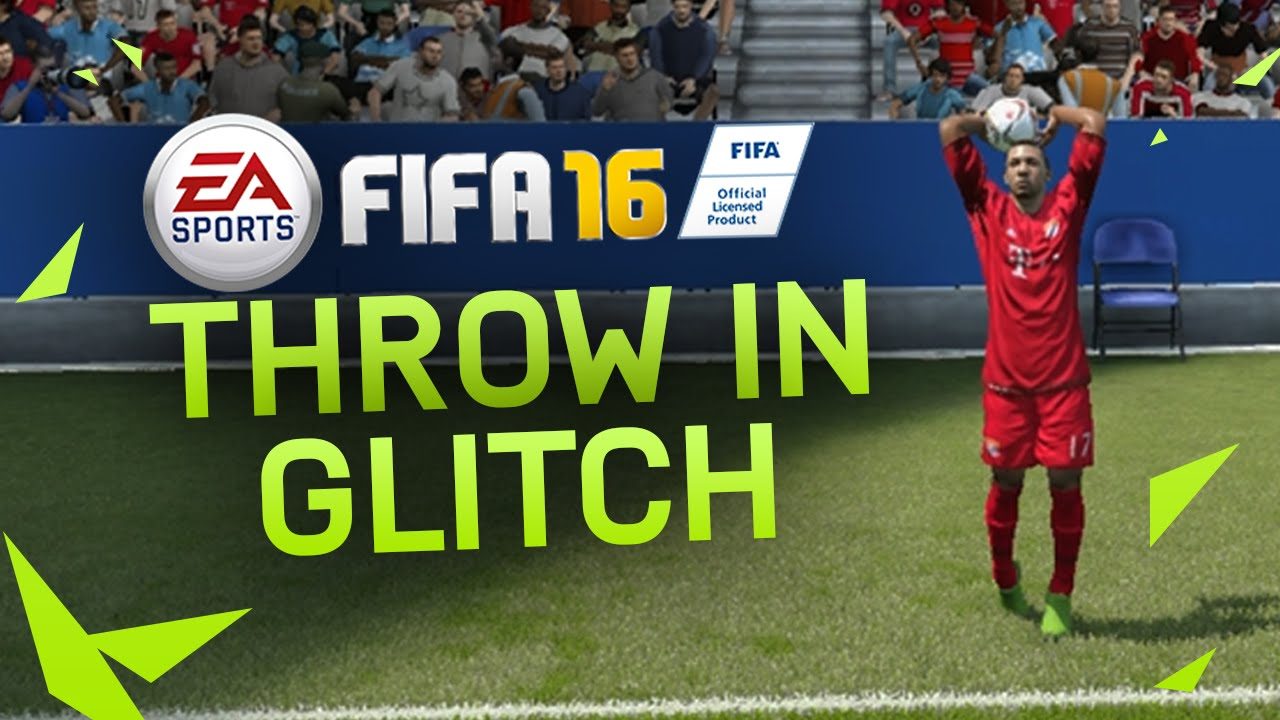FIFA 16 GLITCH TROWN-IN TUTORIAL  HOW TO SCORE EASY GOALS – GIANTLONG THROW-IN TRICK – FUT & H2H