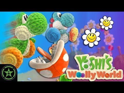 Chaos Corner - Yoshi's Woolly World