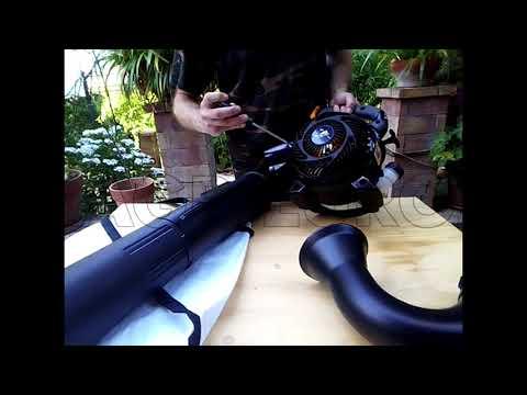 Montaggio soffiatore/aspiratore McCulloch Mac GBV 345