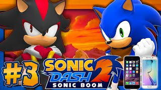 Sonic Dash 2: Sonic Boom - SHADOW DLC (IOS, Android)(Time for a little showcase video on another Sonic mobile game and that is Sonic Dash 2: Sonic Boom!...and it's the best game out of the boom series LMAO If ..., 2015-12-17T22:04:10.000Z)