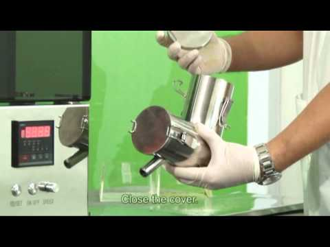 Part 2 Video Mini V-shaped Pharmaceutical Lab Powder Mixer For Use In R&D/Pharmacy Compounding