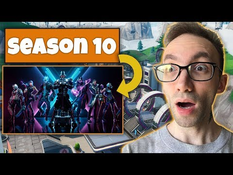 Fortnite Season 10 Gameplay - فورتنایت سیزن ۱۰