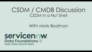 CSDM In A Nutshell