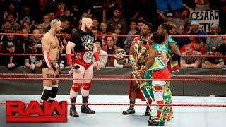 The New Day congratulate Cesaro: Raw, Dec. 19, 2016