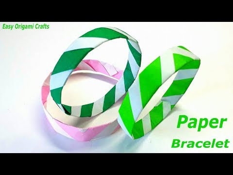 Origami Bracelet For Kids 2019   How To Make Bracelets With Paper   DIY Handmade Crafts Ideas