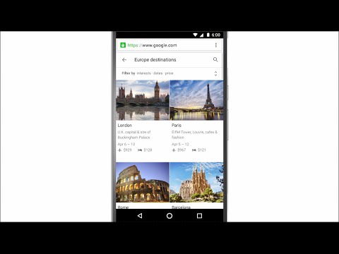 Introducing Destinations on Google
