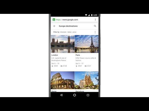 Introducing Destinations on Google
