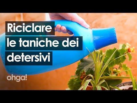 Download Come riciclare le taniche dei detersivi per il giardino e trasformarle in qualcosa di utile