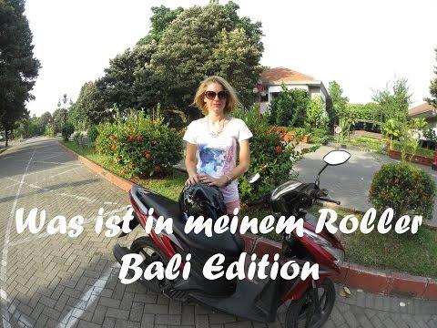 Was ist in meinem Roller - Bali Edition