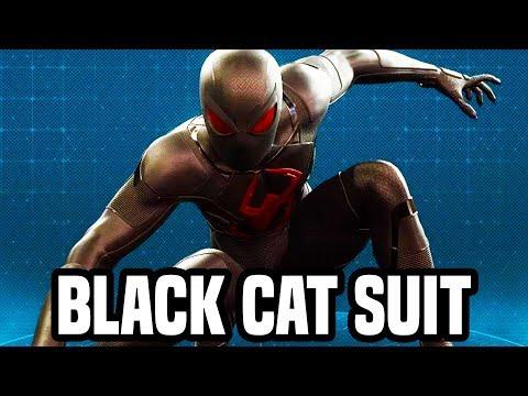Spider Man Ps4 Black Cat Suit Final Scene Gameplay Walkthrough