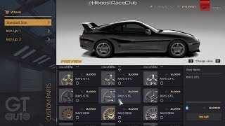 Gran Turismo 6 | 1400+HP TH400 Big Turbo/Nitrous Supra Build + Test N Tune w/ 1000+HP Supras & GTR