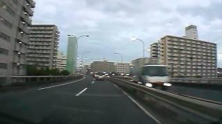 新大橋通りから、見た東京スカイツリー