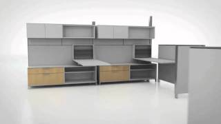 Herman Miller Canvass Office Landscape - Kit of Parts