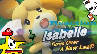 RASCLE AND FRIENDS REACT TO: Super Smash Bros Ultimate Isabelle Switch Reveal Trailer