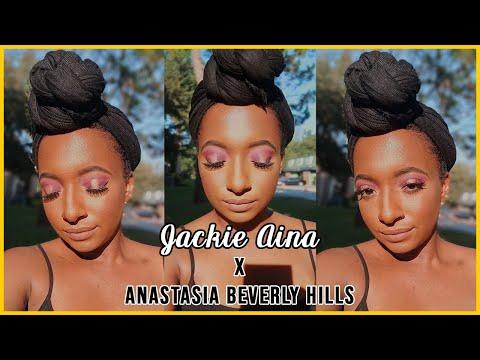 NEW Jackie Aina x ABH Tutorial 💜   Destiny Hadassah thumbnail