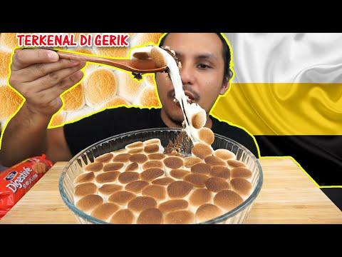 makanan tradisional ORANG GERIK (mukbang malaysia) SMORES DIP