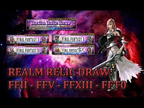 FFRK] Realm Relic Draw: II - V - XIII - T0 #158 - Tirix887