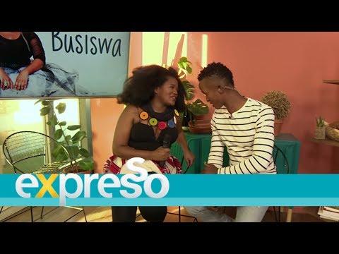 """Busiswa performs """"Gobisiqolo"""""""
