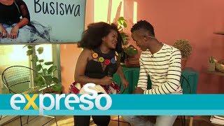 Busiswa performs