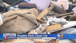 Volunteers Clean Up Illegal Dumping Near Motorsports Park
