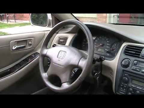 1998 Honda Accord EX-L V6 Startup Engine & In Depth Tour