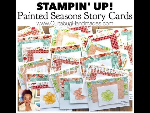 Stampin' Up! Painted Seasons & Part of My Story Card
