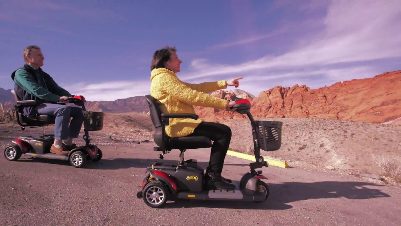 Golden Technologies BUZZAROUND EX 3 and 4 wheel transportable mobility scooter