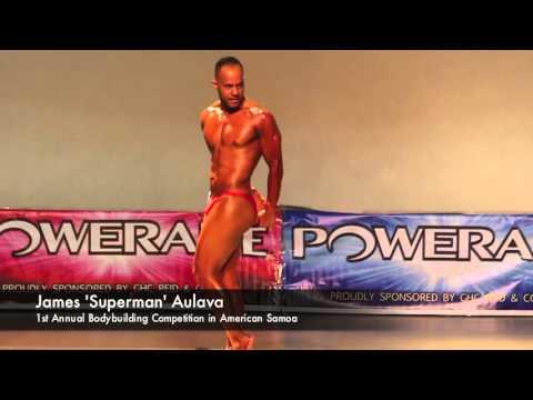 Sau Ia Bodybuilding Inc. of American Samoa – James Aulava