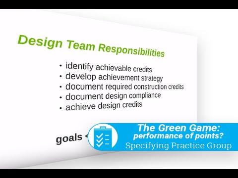 The Green Game – performance or points