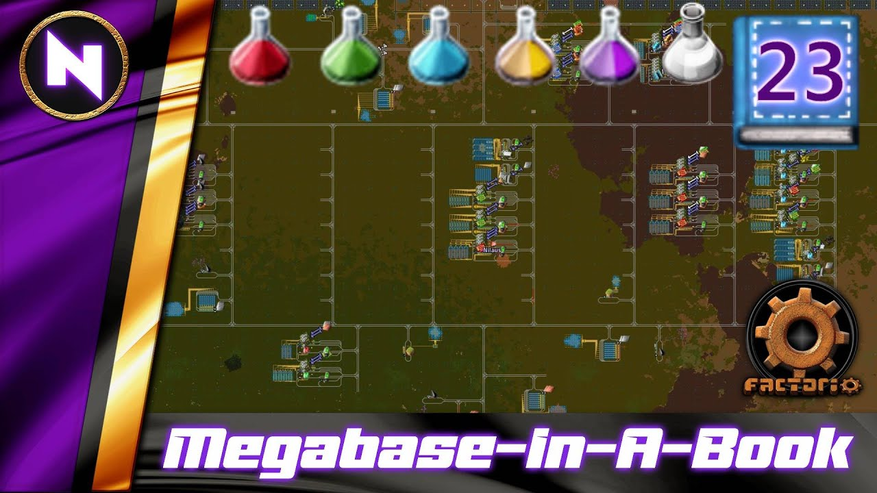 Download One Block Off, Obviously...   #23   Factorio Megabase-In-A-Book Lets Play