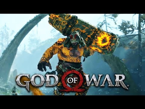 God Of War #5 - Primeira Luta Contra o TROLL GIGANTE (Gameplay Português PT BR PS4 PRO)