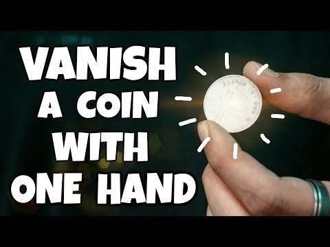 WORLD's MOST VISUAL Coin Vanish TUTORIAL!!!