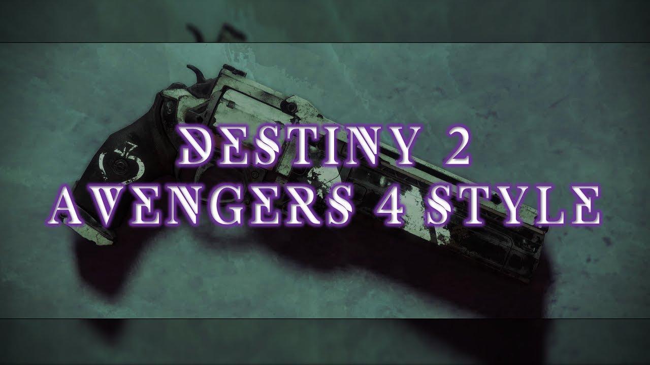 Download Destiny 2 Forsaken | Avengers Endgame Style