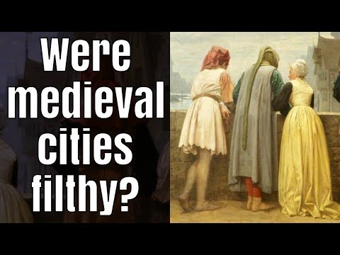 Did medieval people throw sewage out their windows?