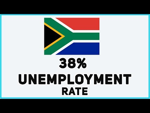 No Jobs in South Africa. Here's why