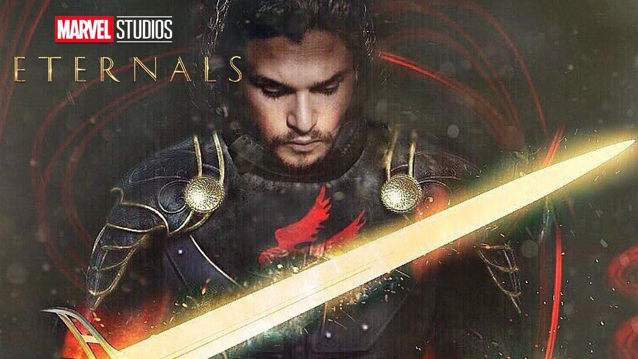 Download Eternals Trailer Marvel Phase 4 and Black Knight Kit Harington Easter Eggs