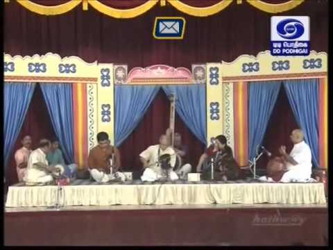 T N Krishnan Violin 04 Kapi Ragam Thanam Pallavi