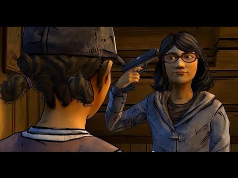 The Walking Dead Season 2 Clementine Sarah Music Video Salty Seas