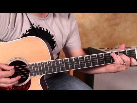 How to Play Johnny Cash on Acoustic Guitar  Jackson - Tutorial