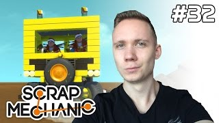 Scrap Mechanic Gameplay PL [#32] DOM CZY AUTO? [z Plaga,Diabeuu]